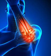 elbow pain from sports, athletics or trauma