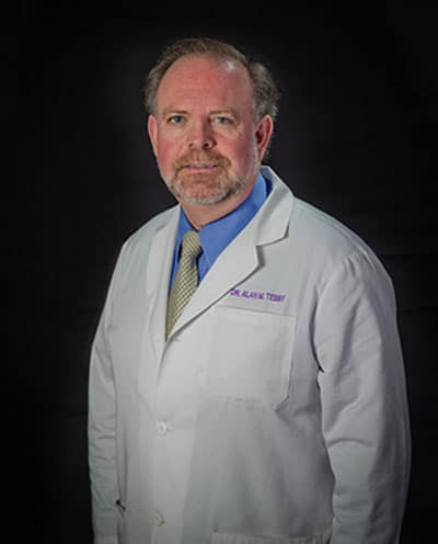 Charlotte chiropractor Dr. Alan Tebby