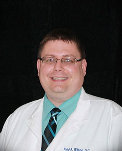 The late south Charlotte chiropractor Dr. Wilson