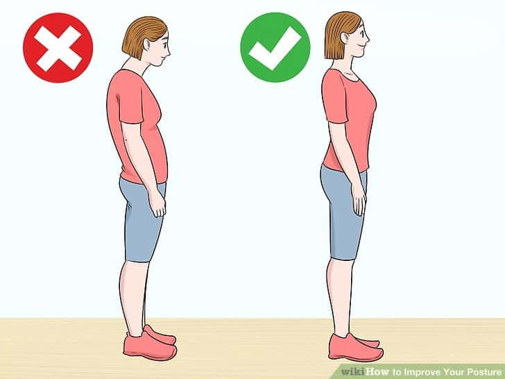 how to fix poor posture