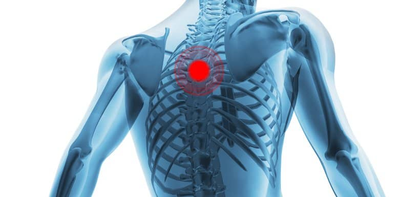 upper back pain, upper back pain relief Charlotte NC, pain between shoulders