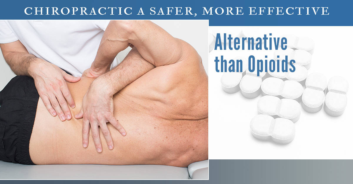 The opioid epidemic has created a huge medical crisis. Chiropractic care has been found to be an effective alternative to opioid prescription.
